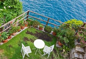 εξοχική κατοικία & κήπος σε παραθαλάσσιες περιοχές