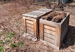 compost σε σωρούς
