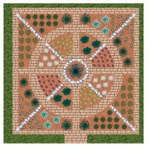Γεωμετρικός λαχανόκηπος