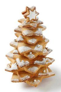χριστουγεννιάτικη διακόσμηση με μπισκότα