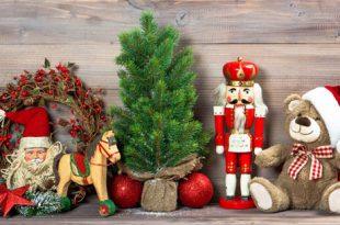 χριστουγεννιάτικη διακόσμηση με καρυοθραύστες