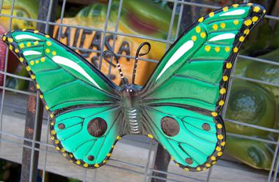 Διακοσμητική πεταλούδα για την εσωτερική αλλά και την εξωτερική διακόσμηση τοίχων.