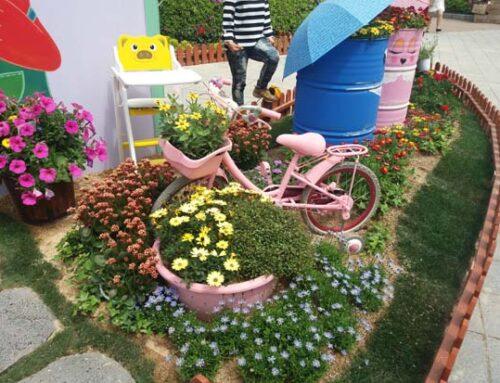 Δημιουργικά παιχνίδια για τα λαχανικά και τα λουλούδια