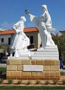 Ο Γλύπτης Νίκος Γεωργίου ολοκλήρωσε το έργο «Η Ελλάδα και ο Αγωνιστής».
