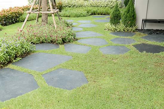 Κήπος με ρετρό διάθεση