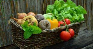καλάθι με λαχανικά