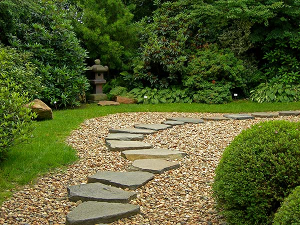 Διάδρομοι κίνησης στον κήπο
