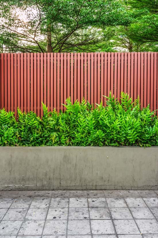 φράχτες εξοχικής κατοικίας