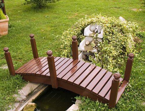 Ιδέες διακόσμησης για ξύλινα γεφυράκια