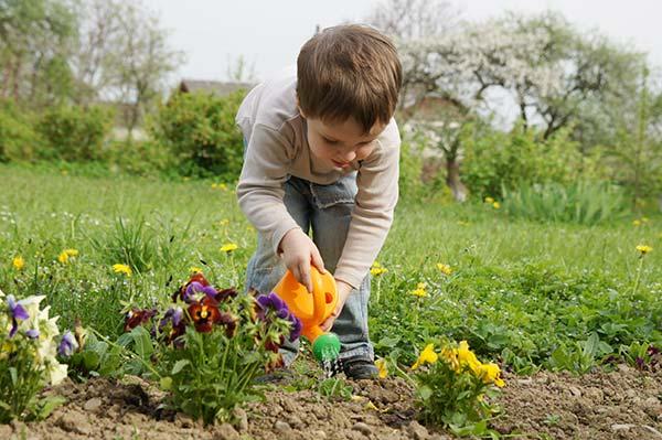 δραστηριότητες κηπουρικής για παιδιά